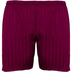 Vêtements Enfant Shorts / Bermudas Maddins Stripe Bordeaux
