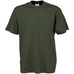 Vêtements Homme T-shirts manches courtes Tee Jays TJ8000 Vert olive