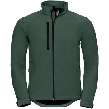 Vêtements Homme Vestes Russell Jerzees Colours Veste coupevent résistante à l'eau BC562 Vert bouteille