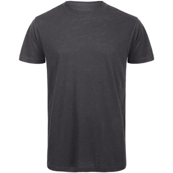 Vêtements Homme T-shirts manches courtes B And C Organic Anthracite