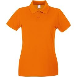 Vêtements Femme Polos manches courtes Universal Textiles Casual Orange vif