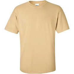 Vêtements Homme T-shirts manches courtes Gildan Ultra Ecru