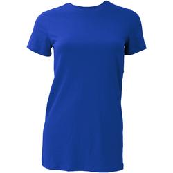 Vêtements Femme T-shirts manches courtes Bella + Canvas BE6004 Bleu royal