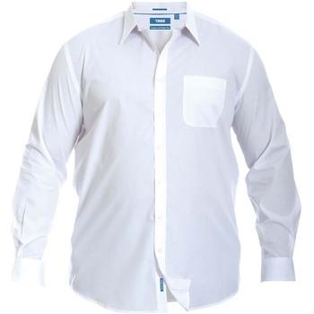 Vêtements Homme Chemises manches longues Duke Classic Blanc