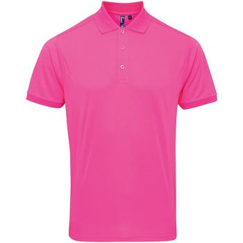 Vêtements Homme Polos manches courtes Premier Coolchecker Rose néon