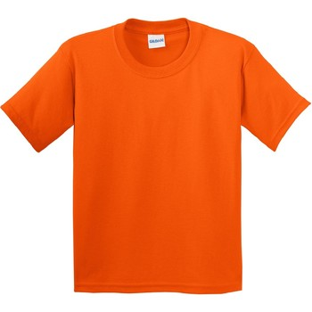 Vêtements Enfant T-shirts manches courtes Gildan Soft Style Orange