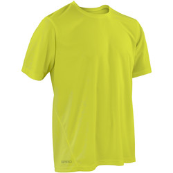 Vêtements Homme T-shirts manches courtes Spiro Performance Vert citron