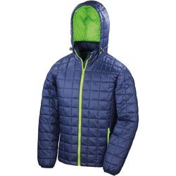Vêtements Homme Doudounes Result R401X Bleu marine/Jasmin