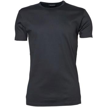 Vêtements Homme T-shirts manches courtes Tee Jays Interlock Gris foncé