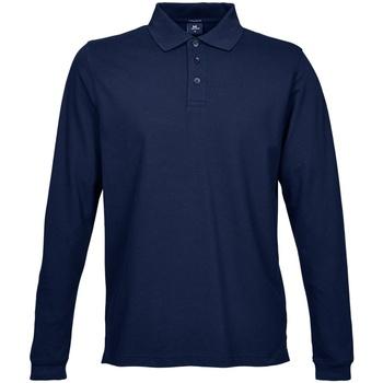 Vêtements Homme Polos manches longues Tee Jays TJ1406 Bleu marine