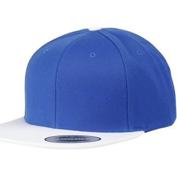 Accessoires textile Casquettes Yupoong YP010 Bleu roi/Blanc
