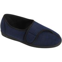 Chaussures Homme Chaussons Comfylux Check Bleu marine