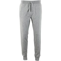 Vêtements Homme Pantalons de survêtement Sols Slim Fit Gris chiné