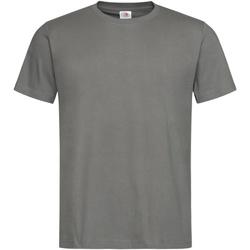 Vêtements Homme T-shirts manches courtes Stedman Stars Organic Gris foncé