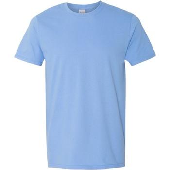 Vêtements Homme T-shirts manches courtes Gildan Soft-Style Bleu ciel