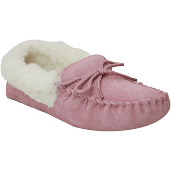 Chaussures Femme Chaussons Eastern Counties Leather Moccasin Rose