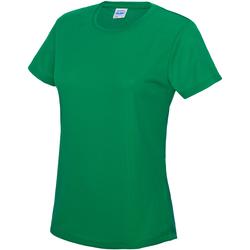 Vêtements Femme T-shirts manches courtes Just Cool JC005 Vert tendre