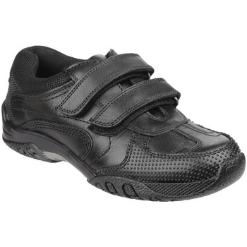 Chaussures Garçon Baskets basses Hush puppies Jezza Noir