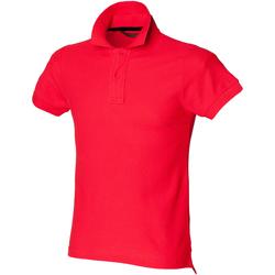Vêtements Homme Polos manches courtes Skinni Fit SFM47 Rouge vif