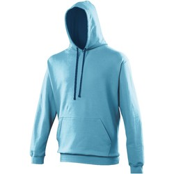 Vêtements Sweats Awdis Hooded Bleu clair / bleu marine