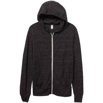 Vêtements Homme Sweats Alternative Apparel Jersey Noir chiné