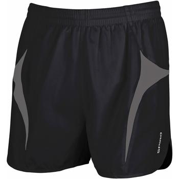Vêtements Homme Shorts / Bermudas Spiro S183X Noir/Gris
