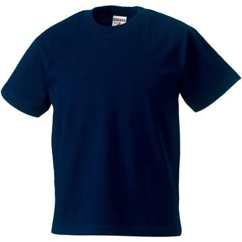 Vêtements Enfant T-shirts manches courtes Jerzees Schoolgear Classics Bleu marine