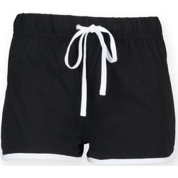 Vêtements Enfant Shorts / Bermudas Skinni Fit Retro Noir/blanc