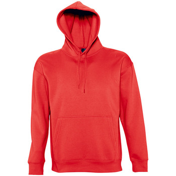 Vêtements Homme Sweats Sols Hooded Rouge