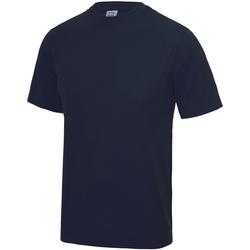 Vêtements Enfant T-shirts manches courtes Just Cool JC01J Bleu marine