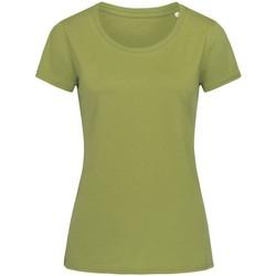 Vêtements Femme T-shirts manches courtes Stedman Stars Organic Vert kaki