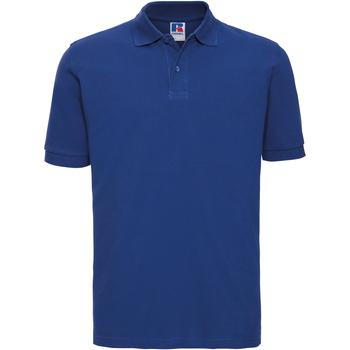 Vêtements Homme Polos manches courtes Russell 569M Bleu roi vif