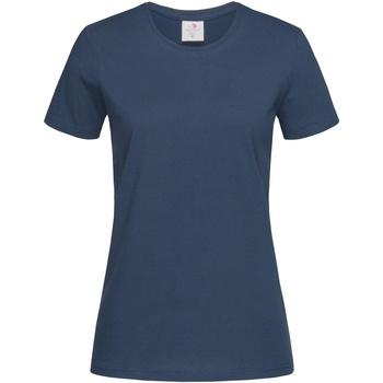 Vêtements Femme T-shirts manches courtes Stedman Classics Bleu marine