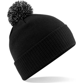 Accessoires textile Fille Bonnets Beechfield Snowstar Noir/Graphite