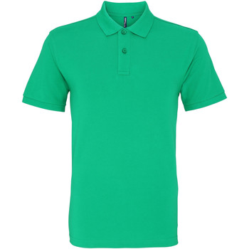 Vêtements Homme Polos manches courtes Asquith & Fox AQ010 Vert tendre
