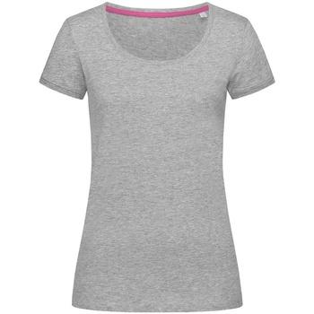 Vêtements Femme T-shirts manches courtes Stedman Stars  Gris chiné