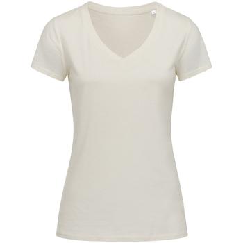 Vêtements Femme T-shirts manches courtes Stedman Stars Janet Blanc cassé