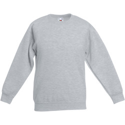 Vêtements Enfant Sweats Fruit Of The Loom Classic Gris