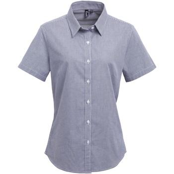 Vêtements Femme Chemises / Chemisiers Premier Check Bleu marine/Blanc