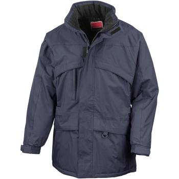 Vêtements Homme Parkas Result R98X Bleu marine/Bleu marine