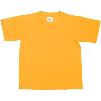 Vêtements Enfant T-shirts manches courtes B And C TK300 Or