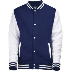 Vêtements Enfant Blousons Awdis Varsity Bleu marine/Blanc