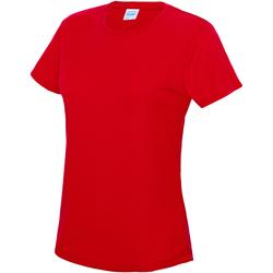 Vêtements Femme T-shirts manches courtes Just Cool JC005 Rouge feu