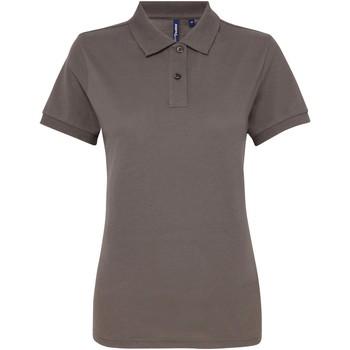 Vêtements Femme Polos manches courtes Asquith & Fox AQ025 Gris