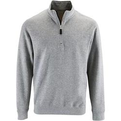 Vêtements Homme Pulls Sols Contrast Gris chiné