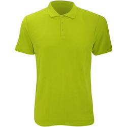 Vêtements Homme Polos manches courtes Anvil Pique Vert citron
