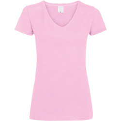 Vêtements Femme T-shirts manches courtes Universal Textiles Value Rose bébé