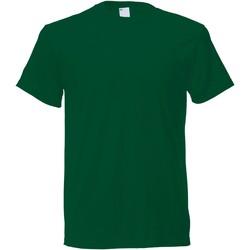 Vêtements Homme T-shirts manches courtes Universal Textiles 61082 Vert foncé