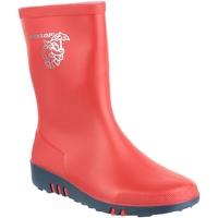 Chaussures Enfant Bottes de pluie Dunlop Elephant Rouge