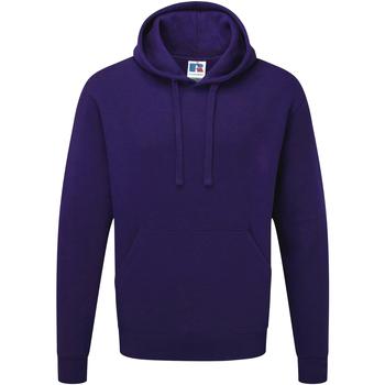 Vêtements Homme Sweats Russell Sweatshirt à capuche BC1498 Pourpre